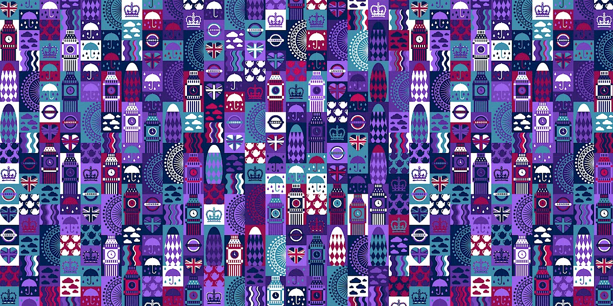 London Pattern Design by Russfuss