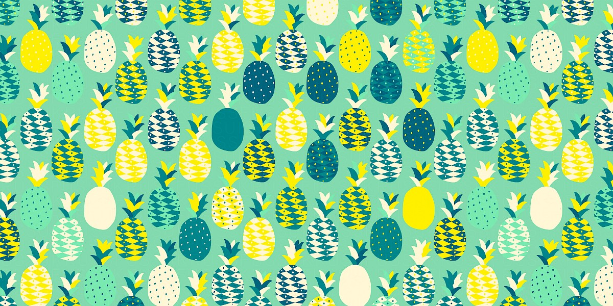 Pinaparty Pattern Design by Russfuss
