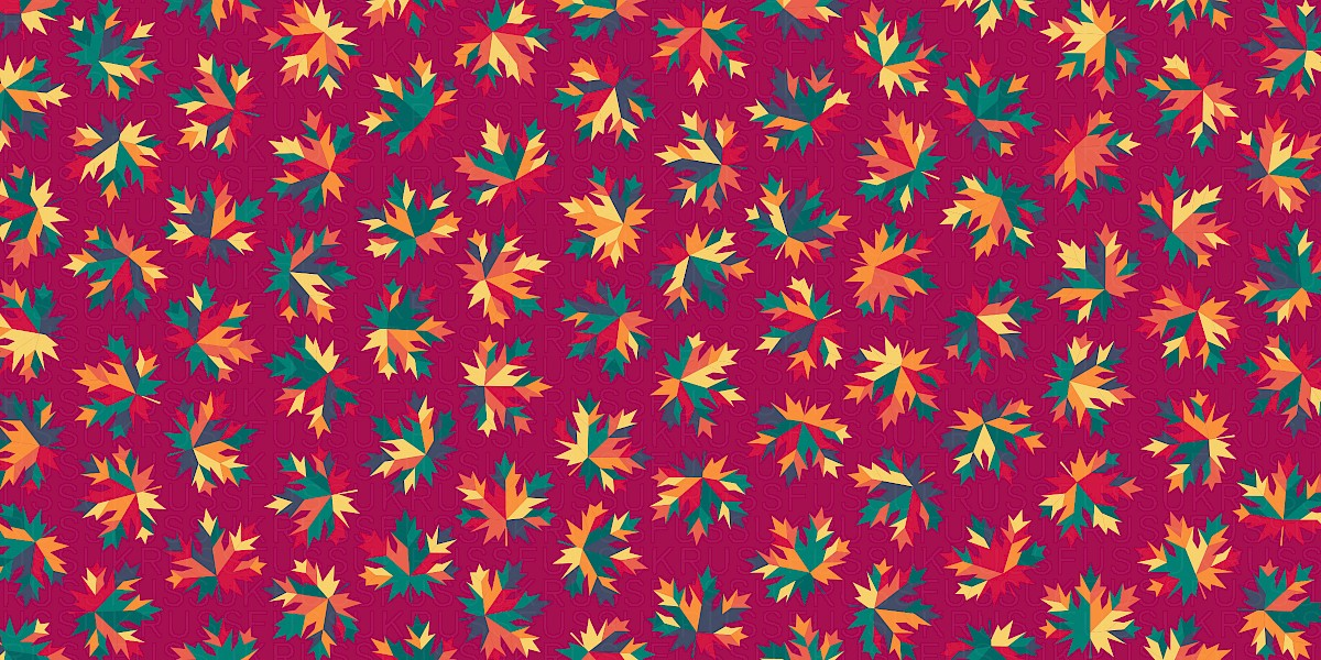 Sharp Maple Pattern Design by Russfuss