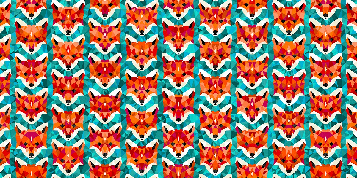 Vulpes Pattern Design by Russfuss