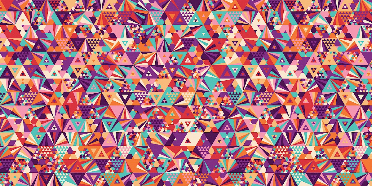 CosmicGirl Pattern Design by Russfuss